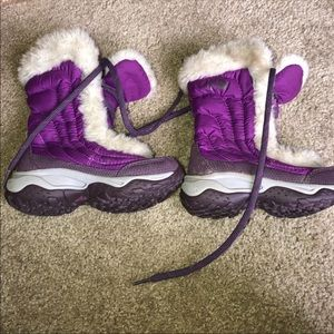 north face baby girl boots!